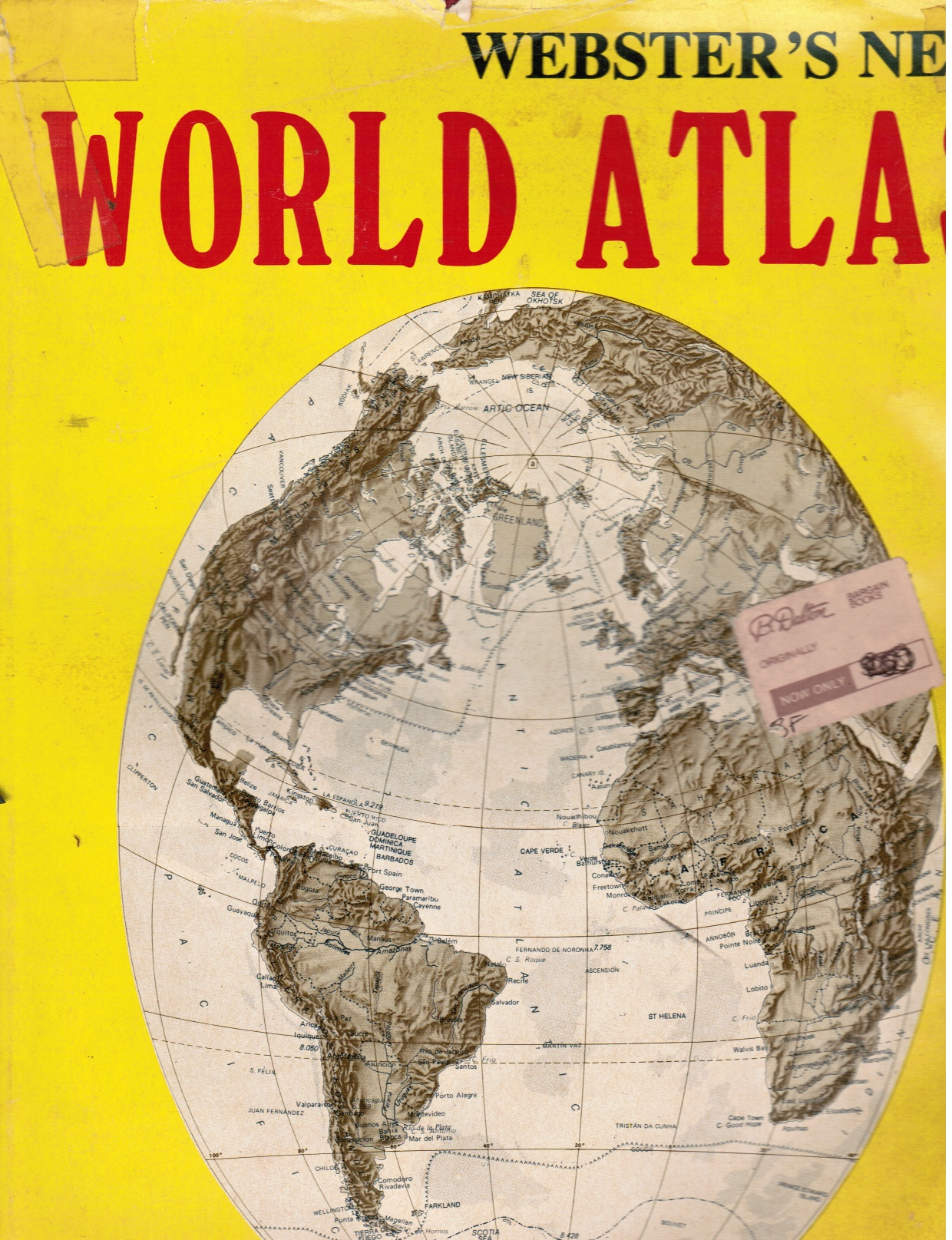 Image for Webster's New World Atlas:  A Complete Up-To-Date World Atlas