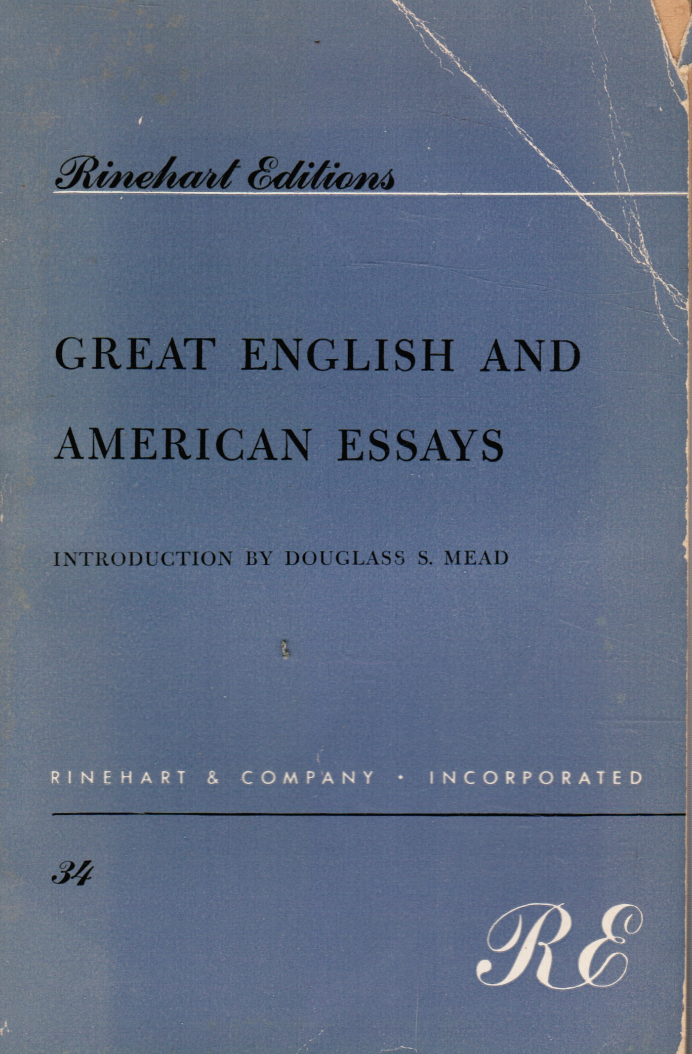 Image for Great English and American Essays
