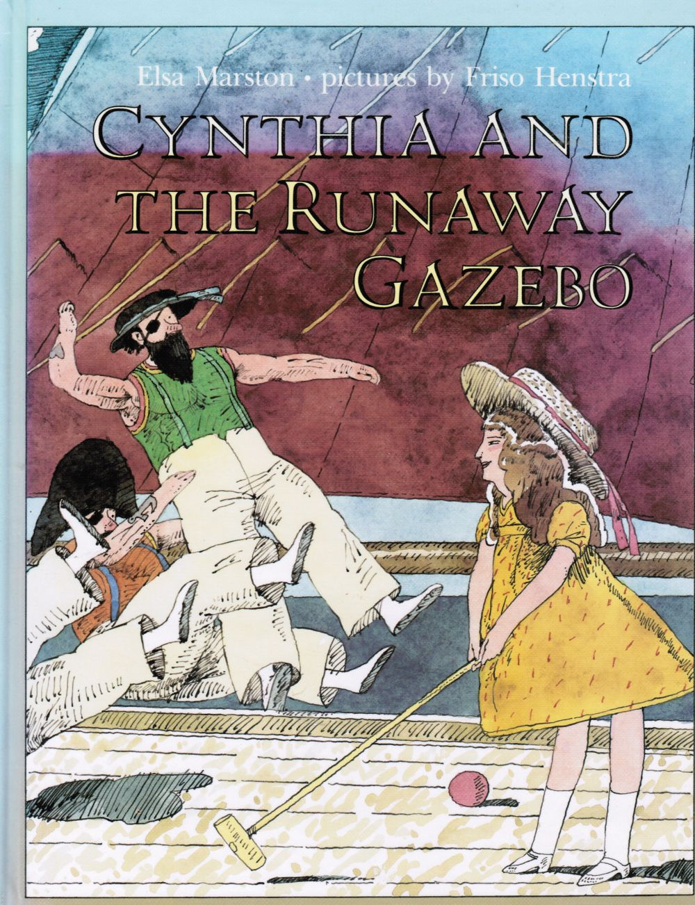 Image for Cynthia and the Runaway Gazebo