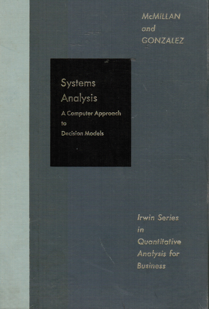 Image for Systems Analysis : A Computer Approach To Decision Models