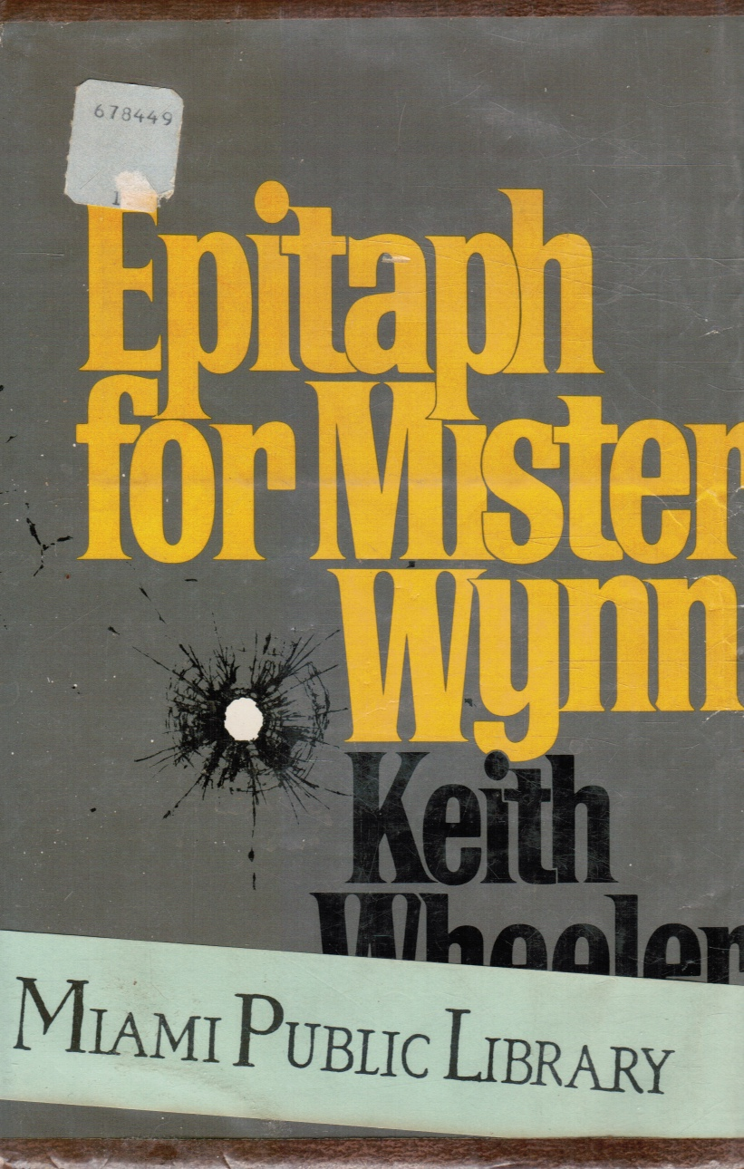 Image for Epitaph for Mister Wynn