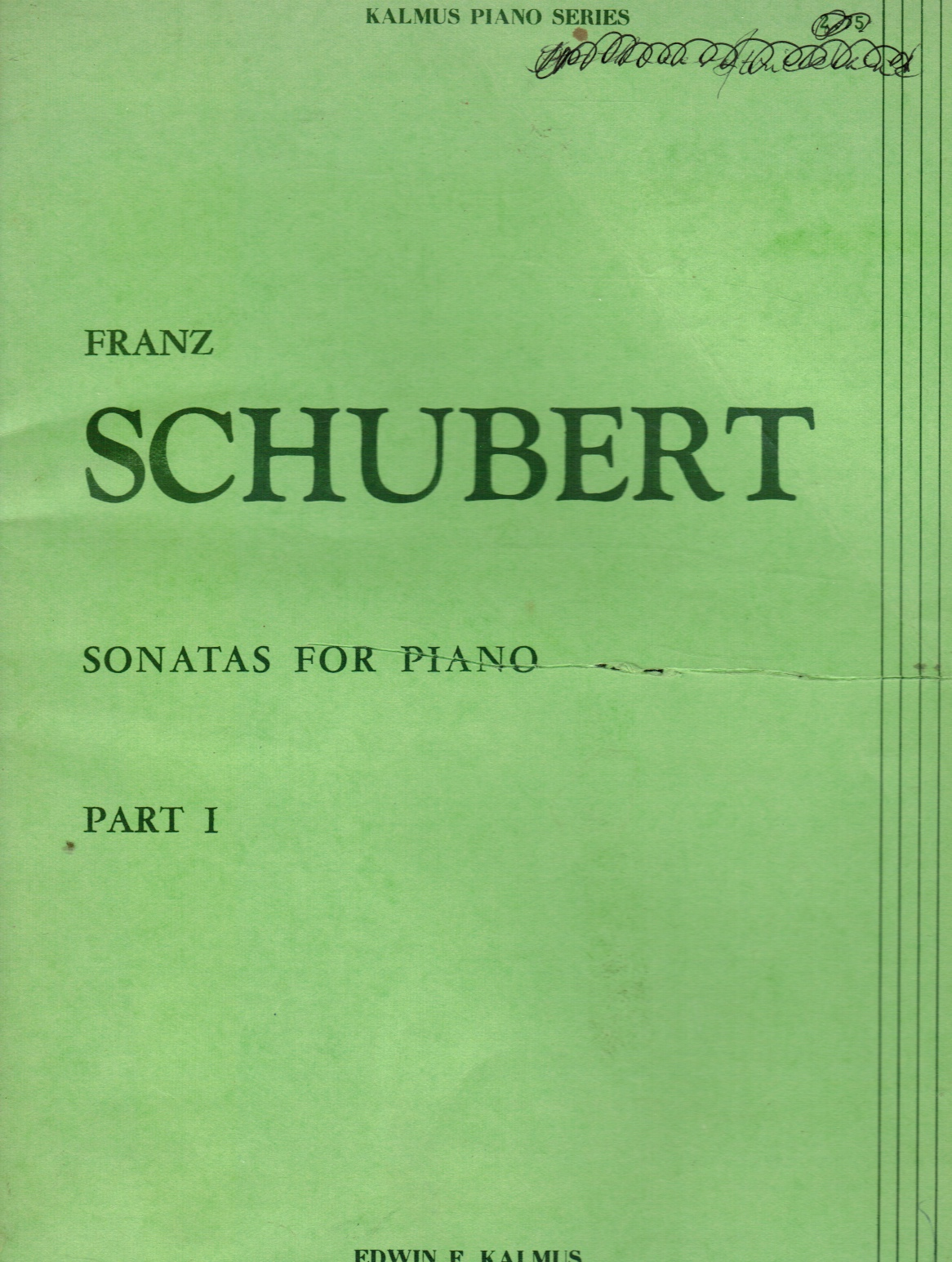 Image for Franz Schubert Sonatas for Piano. Part I