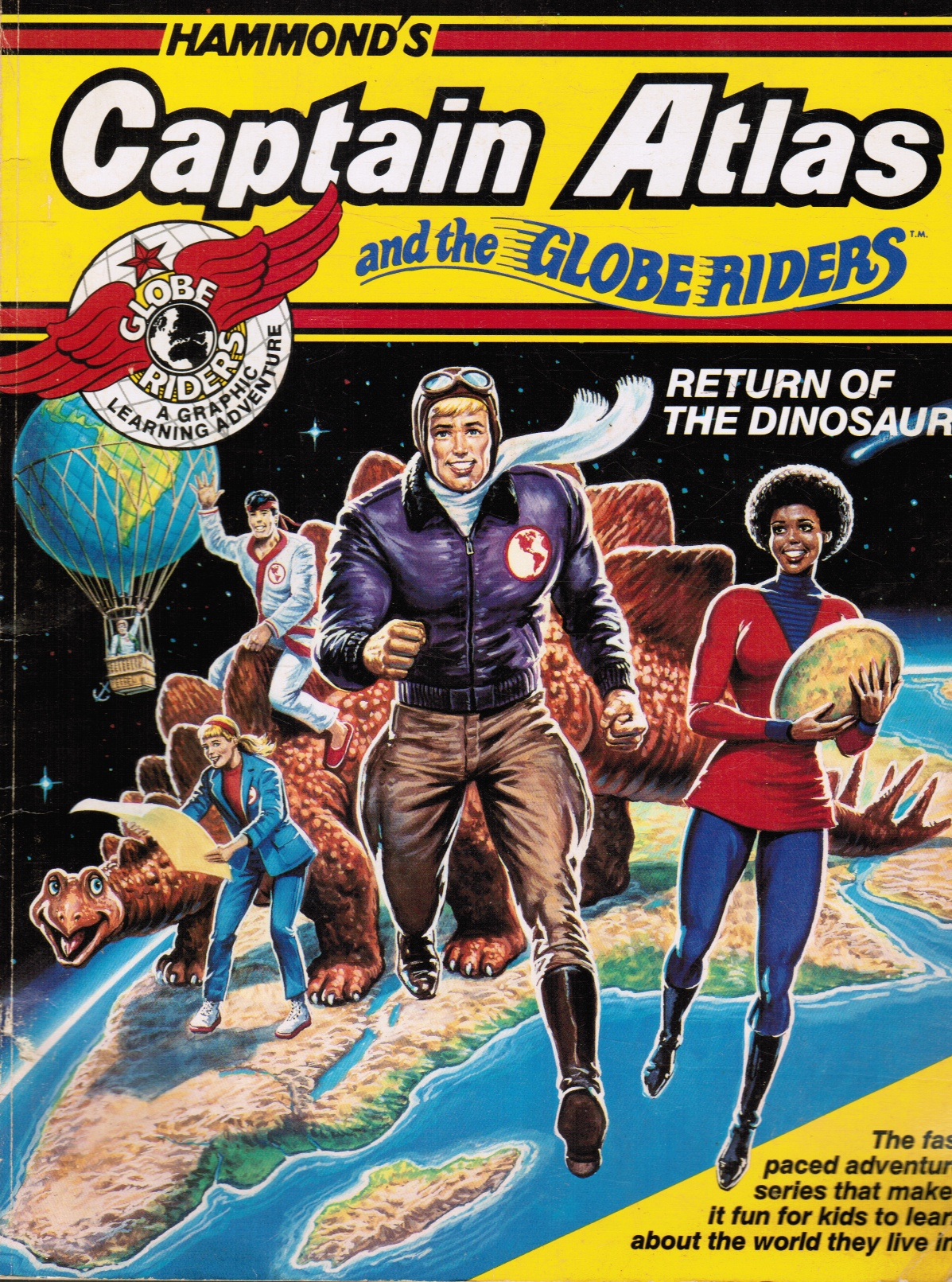 Image for Captain Atlas and the Globe Riders: Return of the Dinosaurs