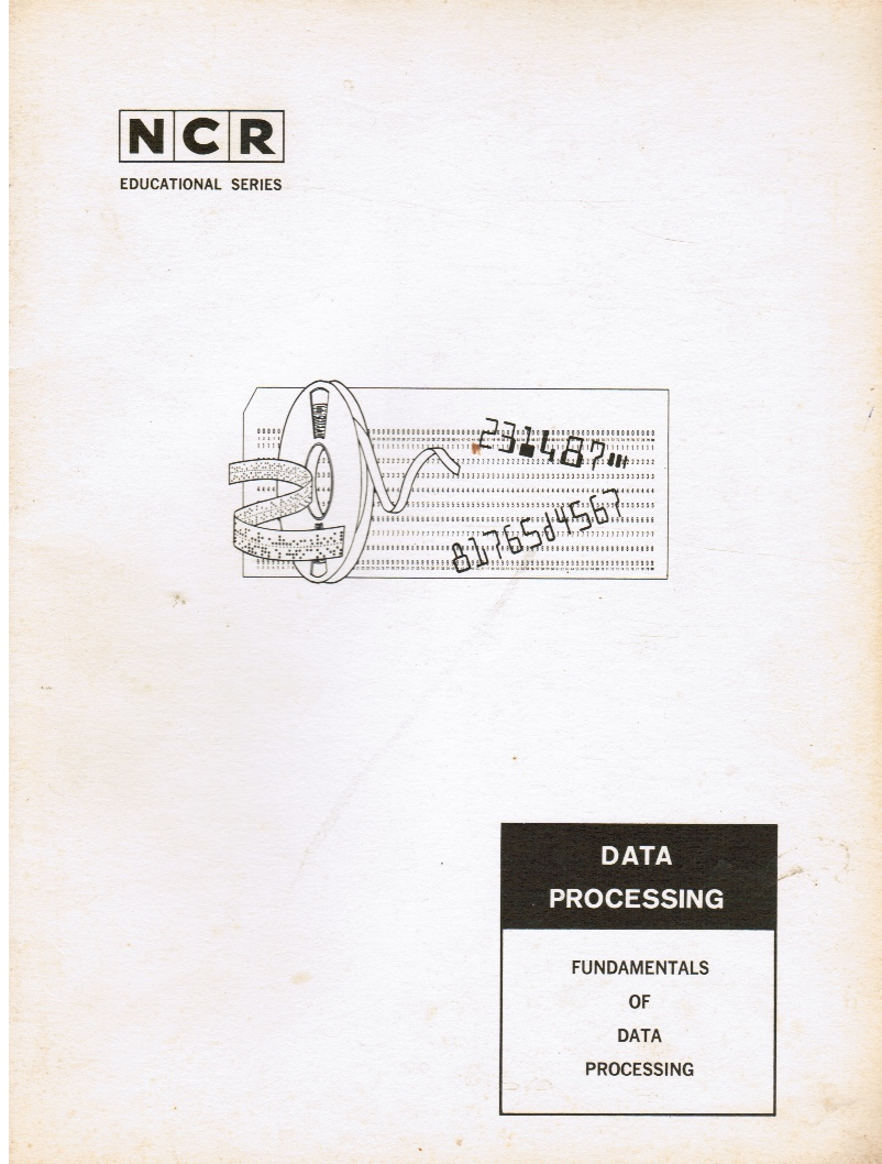 Image for NCR - Data Processing: Fundamentals of Data Processing