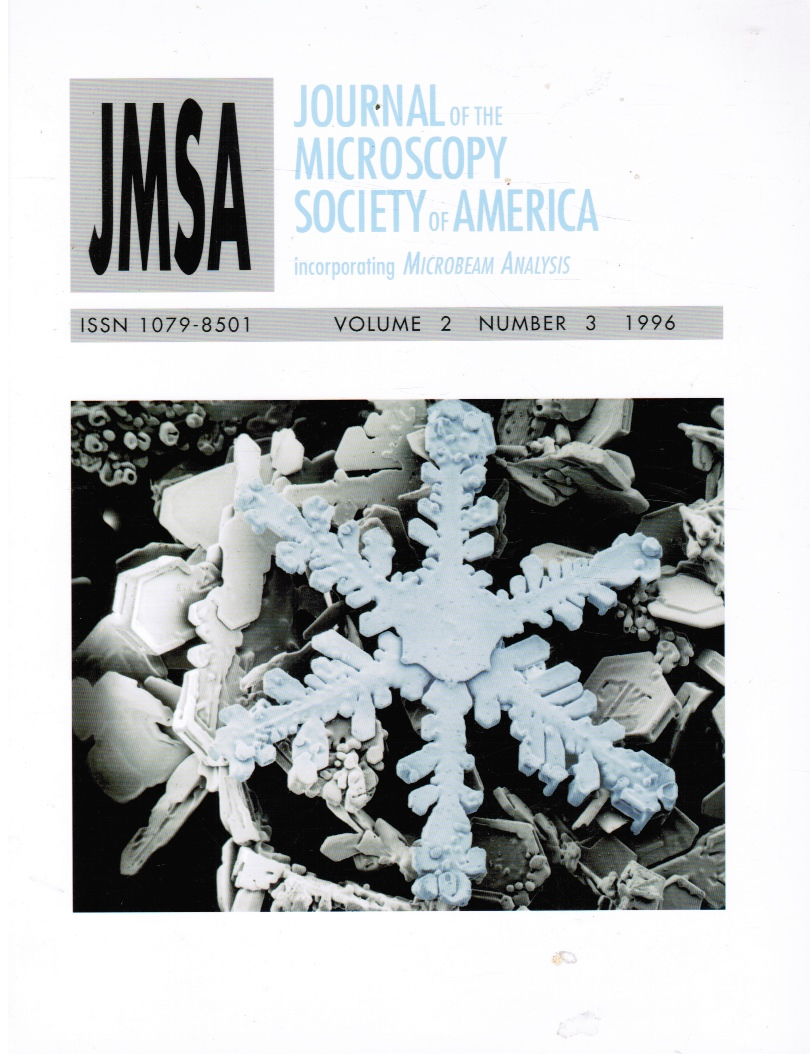 Image for JMSA: Journal of the Microscopy Society of America: Vol 2, #3, 1996