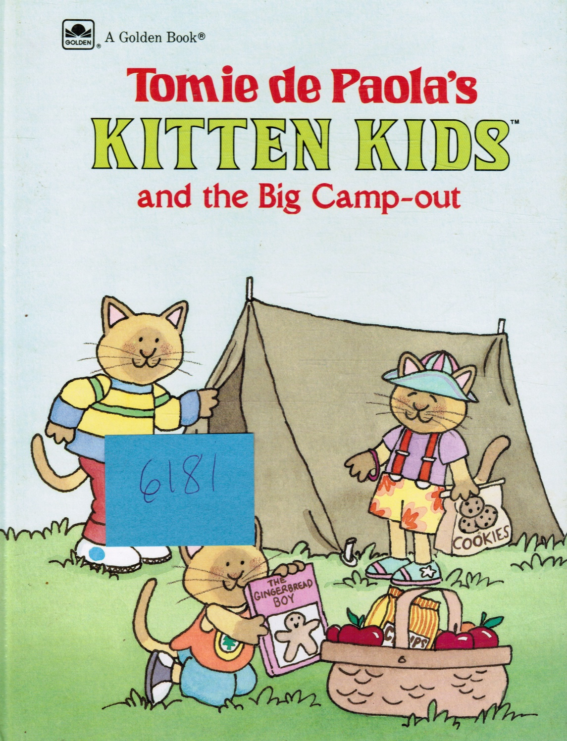 Image for Kitten Kids and the Big Camp-Out (A Golden Book)
