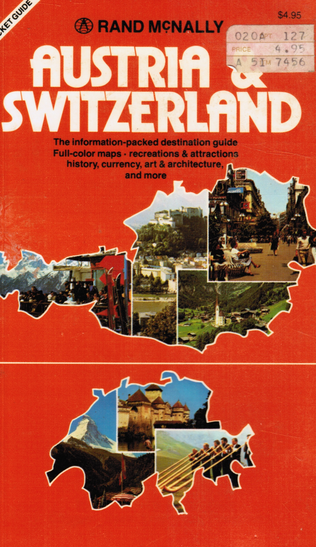 Image for Austria and Switzerland: a Rand Mcnally Pocket Guide
