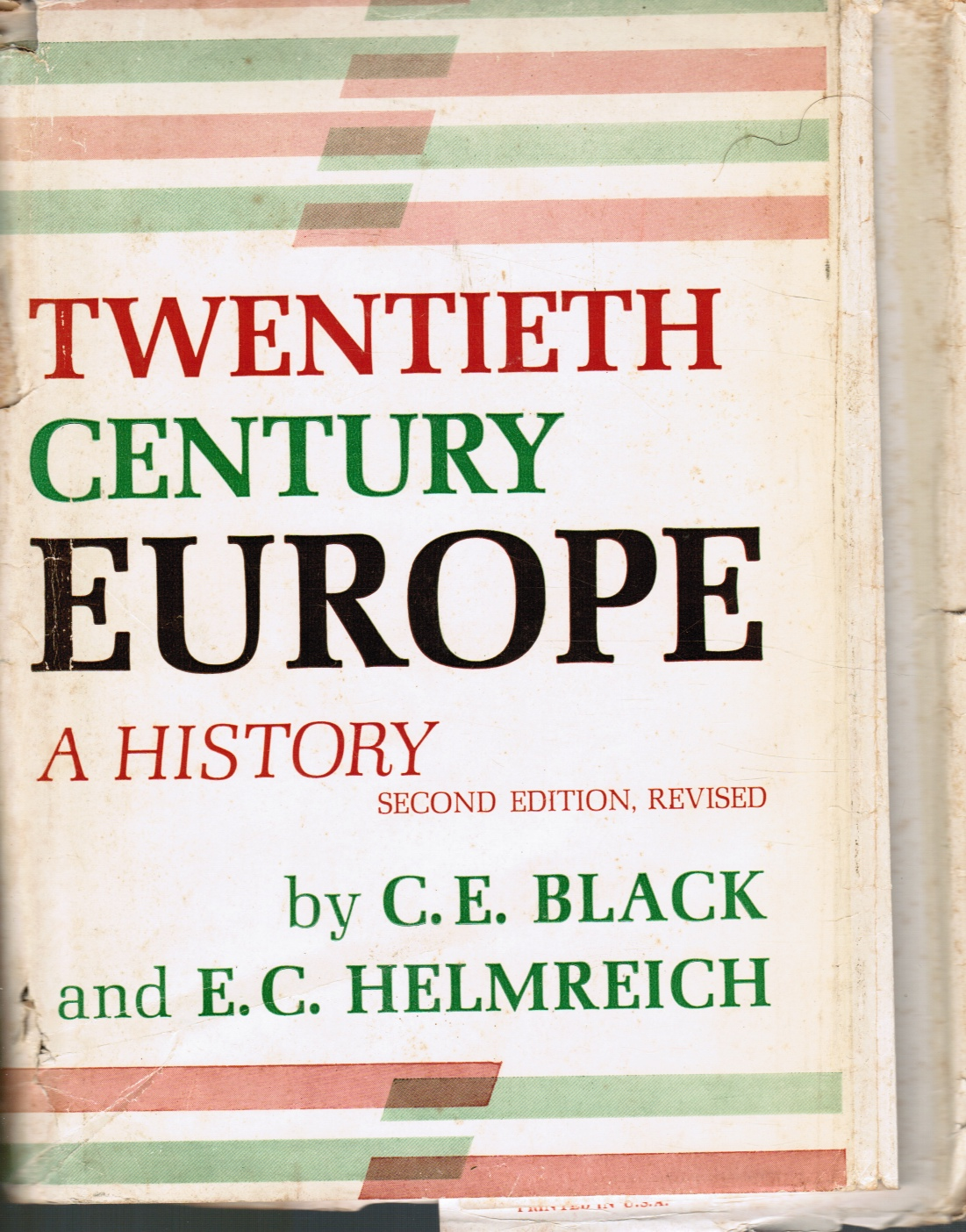 Image for Twentieth Century Europe: a History