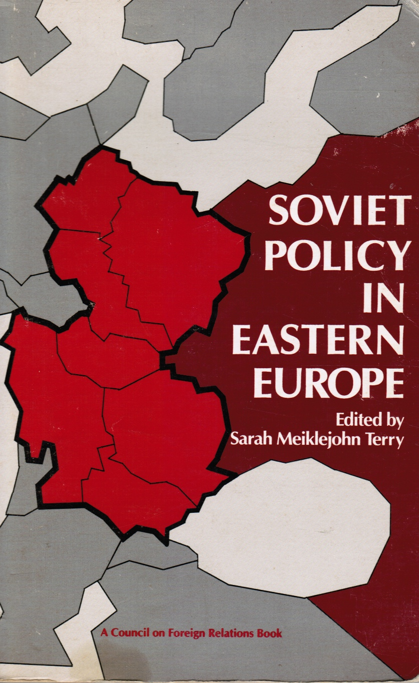 Image for Soviet Policy In Eastern Europe
