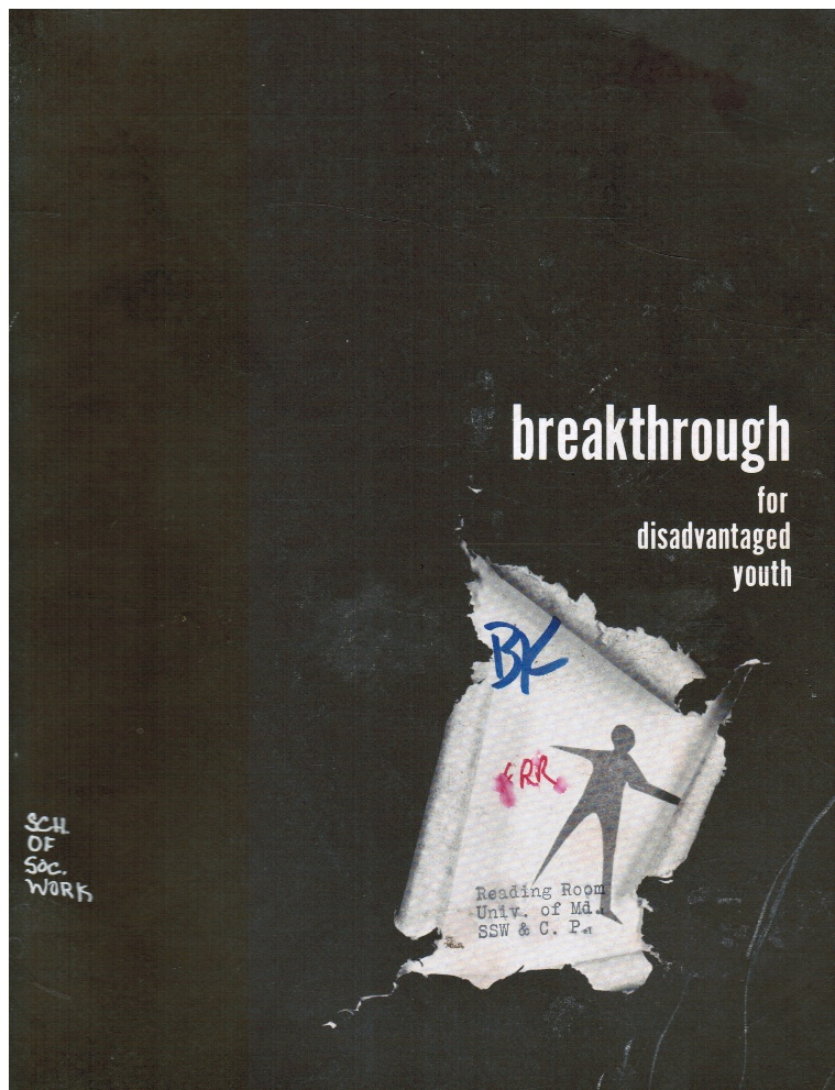 Image for Breakthrough For Disadvantage Youth