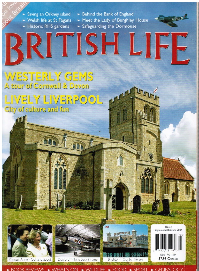 Image for British Life: Issue 3, September/October 2004 Features: Liverpool, Cornwall & Devon