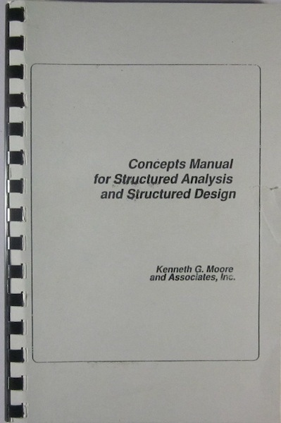 Image for Concepts Manual for Structured Analysis and Structured Design