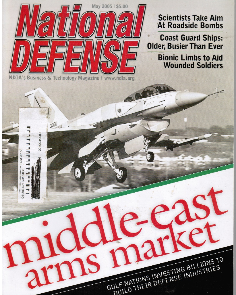 Image for National Defense: NDIA's Business & Technology Magazine Middle East Arms Market (Feature)