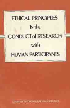 Image for Ethical Principles in the Conduct of Research with Human Participants