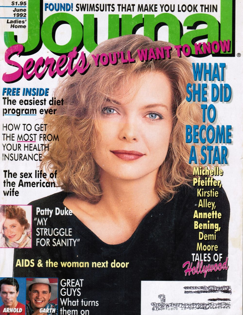 Image for Ladies' Home Journal: June 1992 (Michelle Pfeiffer Cover)