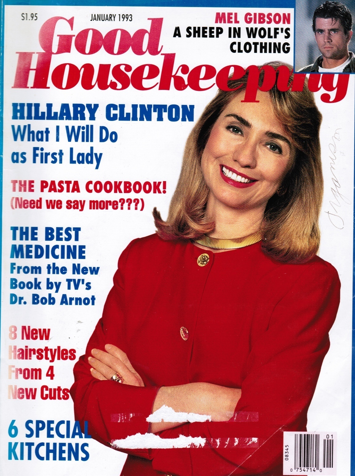 Image for Good Housekeeping Magazine: January 1993 Hillary Clinton: What I Will Do As First Lady