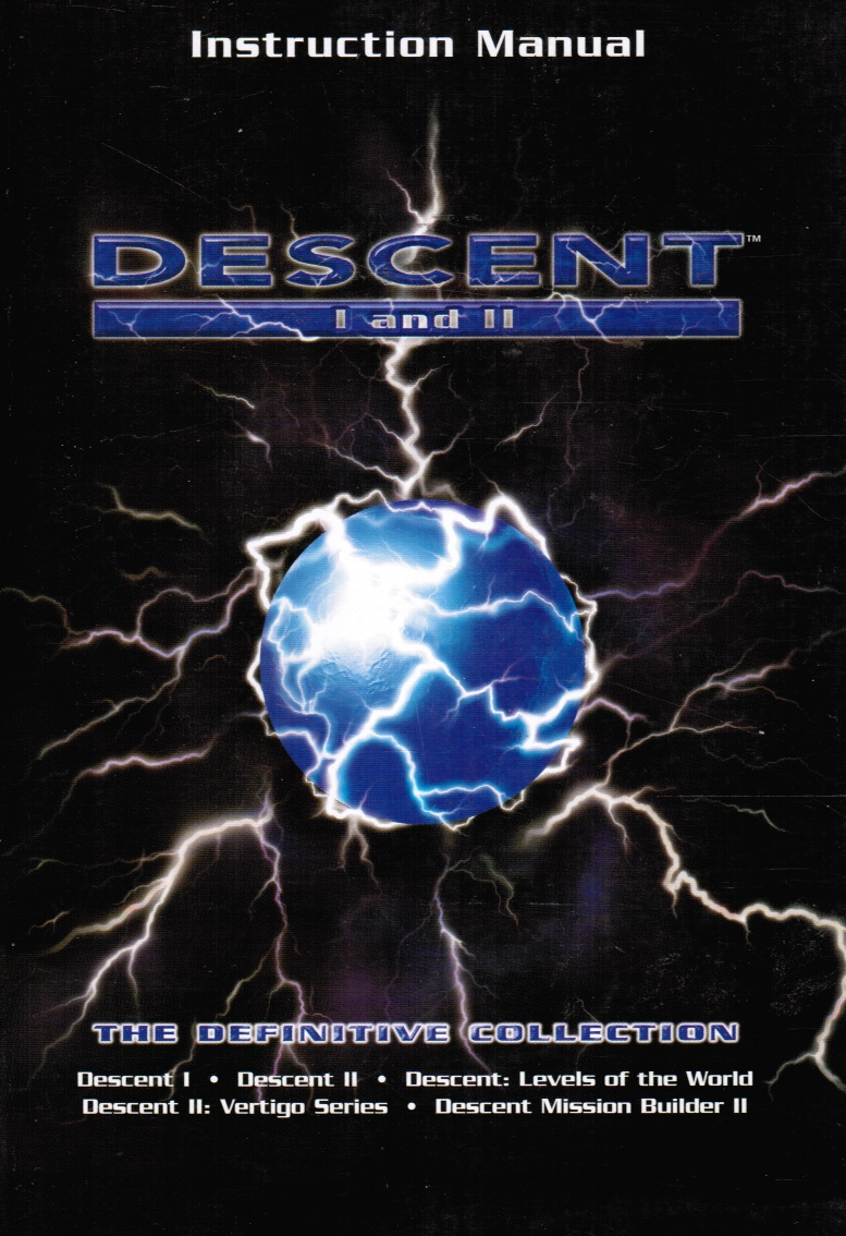 Image for Descent I and II Instruction Manual The Definitive Collection