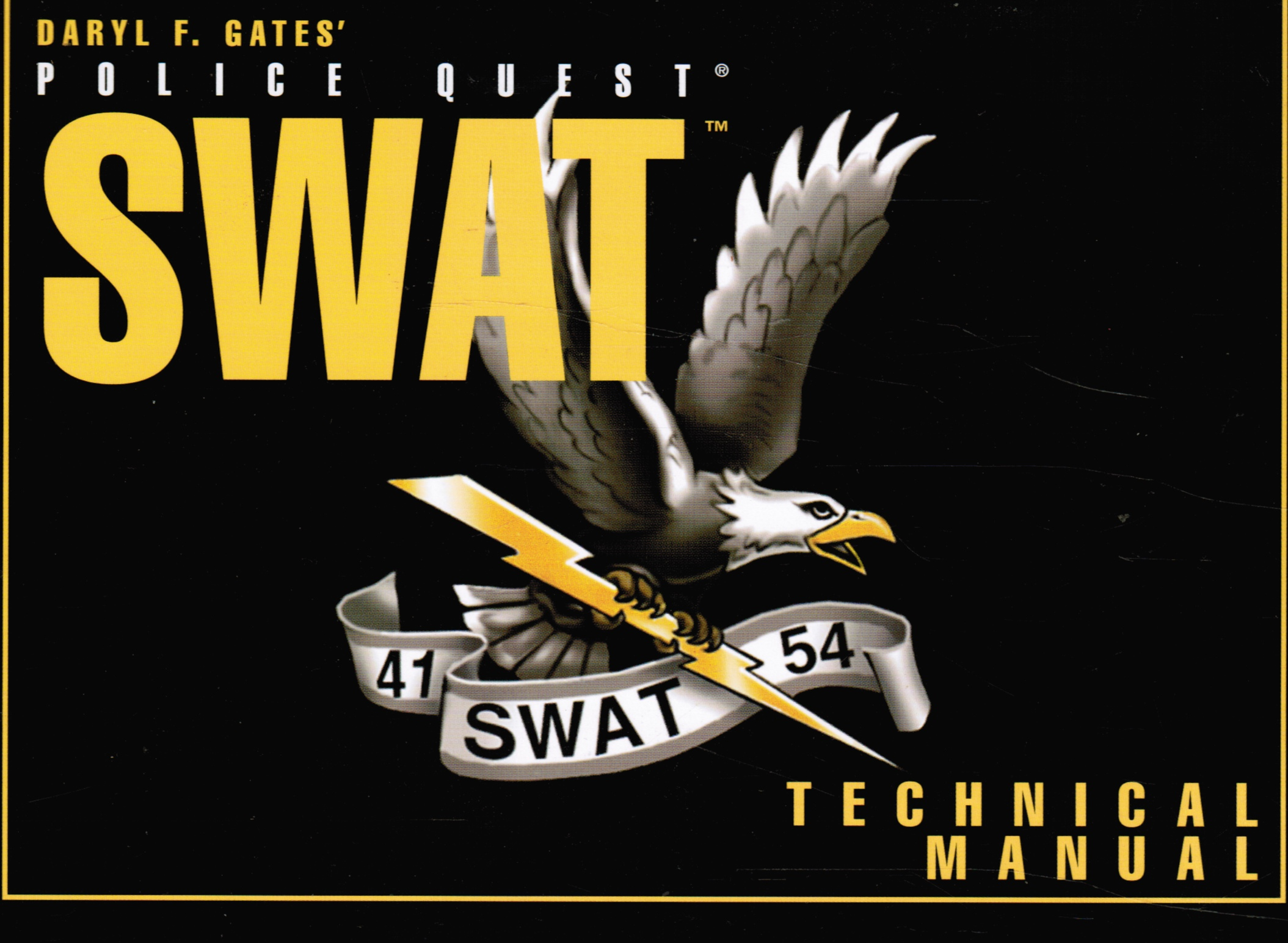 Image for Police Quest Swat Technical Manual