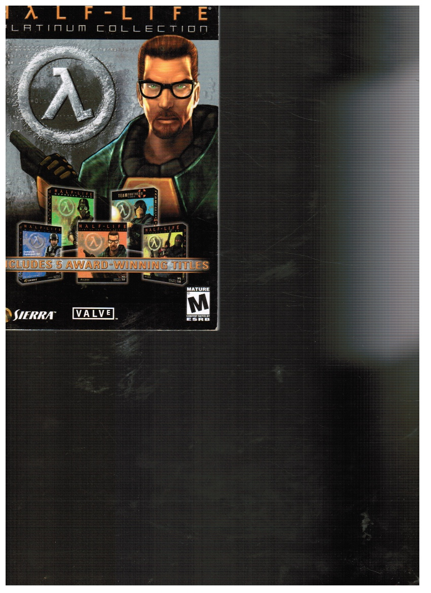 Image for Half-life Platinum Collection (owner's Manual)