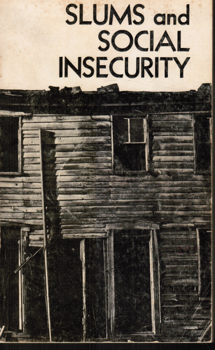 Image for Slums And Social Insecurity